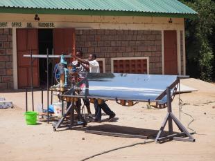 """""""Made-In-Kenya"""" prototype solar thermal desalinator"""